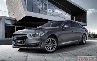 Корейский бренд Hyundai выпустил премиальный седан Genesis G90