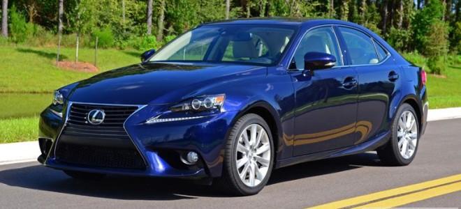 Обновленный sedan Lexus IS 350 2014