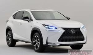 Рассекречена новая модель компактного кроссовера Lexus NX