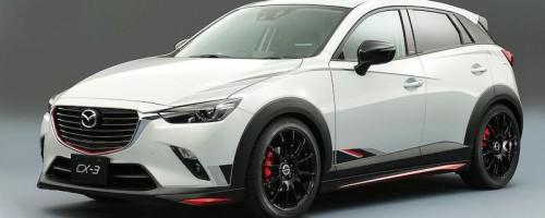 Компания Mazda представит комплекты для тюнинга своих моделей