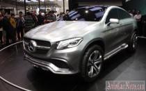 Пекин 2014 – new crossover Mercedes-Benz MLC Concept 2015