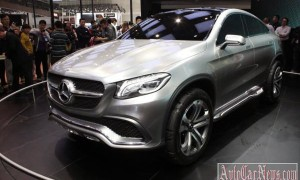 Пекин 2014 – new crossover Mercedes-Benz MLC Concept 2015