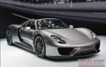 Гибридный спорткар Porsche 918 Spyder 2014