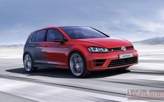 Новая модель Volkswagen Golf R Touch 2015