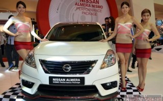 Седан 2015 Almera от Nissan обзавелся Nismo-версией
