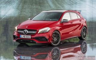 Новый Mercedes-Benz A-Class получит 400-сильную версию A 45 AMG