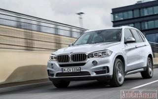 Компания BMW официально представила модель 2015 X5 xDrive40e Hybrid