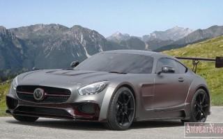Ателье Mansory снабдило Mercedes AMG GT S оригинальным антикрылом