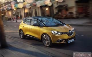 Обновленная модель Renault Scenic IV 2017 выходит на рынок
