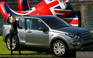 Париж 2014 – водное шоу от Land Rover Discovery Sport 2015