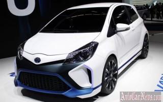 Новый хэтчбек Yaris Hybrid-R 2014 от Toyota