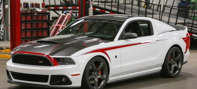 Ford Mustang от тюнинг ателье Roush Performance