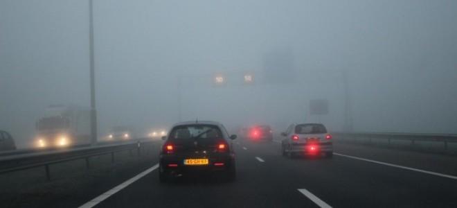Как вести автомобиль в тумане