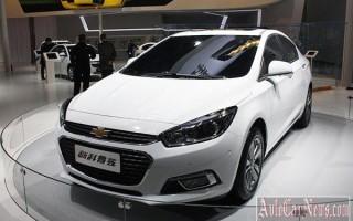Пекин 2014 – new sedan Chevrolet Cruze II 2015