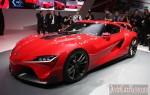 Прототип автомобиля будущего – 2014 Toyota FT-1 Concept (видео)