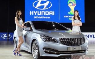 Рестайлинговый Hyundai Grandeur 2014 оснастили дизельным мотором