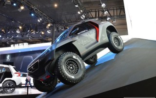 Пекин 2014 – crossover Peugeot 2008 DKR for rally Dakar (видео)