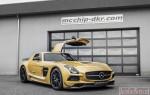 Заряженный Mercedes-Benz SLS63 AMG от Mcchip-DKR