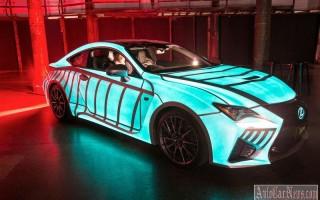 Компания Lexus научила купе RC F сердцебиению человека