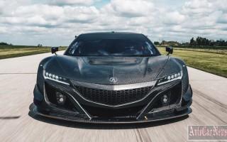 Спортивное купе Acura NSX GT3 получил карбоновый кузов