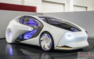 Представлен интеллектуальный прототип авто — Toyota i Concept
