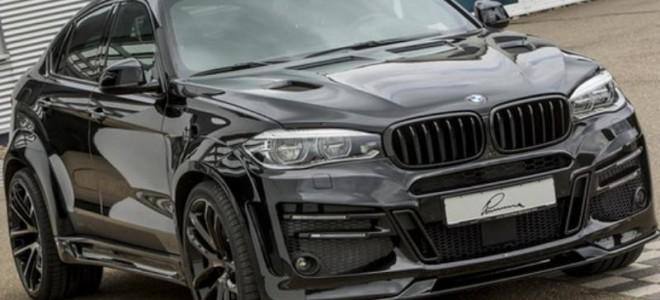 Прокаченный BMW X6 в агрессивном тюнинге от ателье Lumma