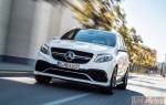 Новая заряженная версия кроссовера Mercedes-Benz GLE 63 AMG 2015