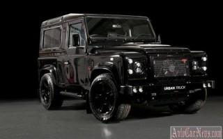 Легендарный Land Rover Defender получил мотор от Corvette