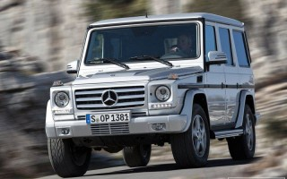 Обновленный внедорожник Mercedes-Benz G-Class 2013