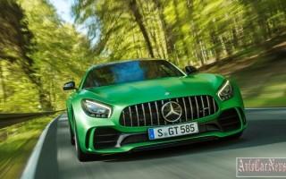 Дебют нового Mercedes AMG GT R с успехом прошел в Гудвуде