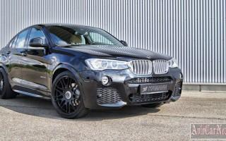 Начата доработка BMW X4 тюнерами Hamann Motorsport