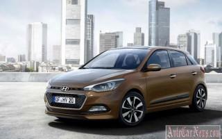 Хэтчбек Hyundai i20 II 2015 – новые подробности