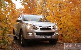 Для рынка РФ пикап Isuzu D-Max дорогое удовольствие