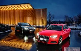 На рынке РФ стартовали продажи 2016 Audi A4 в новом поколении