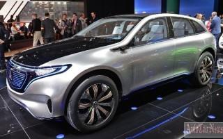400-сильный электрокроссовер Generation EQ от Mercedes