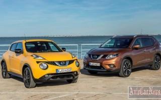 Японцами снижена цена на Nissan Juke и Qashqai