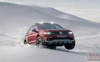 Гибридная версия VW Tiguan теперь стала спортивным внедорожником