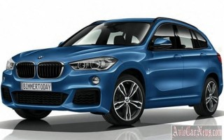 Баварцы представили пакет M Sport для новой модели BMW X1