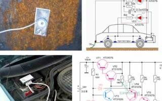 Катодная защита автомобиля от коррозии