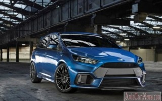 Новая модель 2016 Focus 3 RS от Ford оснащена полым приводом