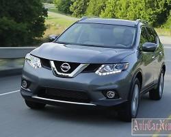 Внедорожник Nissan Rogue 2014 новой генерации