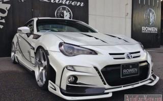 Тюнинг ателье Rowen International доработало Toyota GT 86