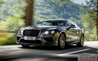 2017 Bentley Continental SuperSports – самый быстрый автомобиль