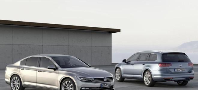 Компания Volkswagen рассекретила новый Passat B8