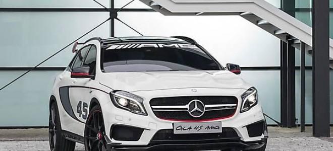 Новый кроссовер Mercedes-Benz GLA 45 AMG