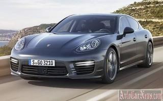 Рестайлинговый Porsche Panamera Turbo S 2014