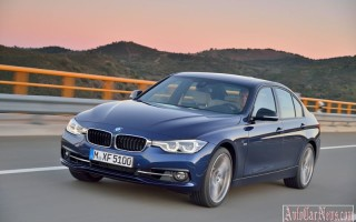 Баварцы рассекретили обновленную модель 2016 BMW 3-Series