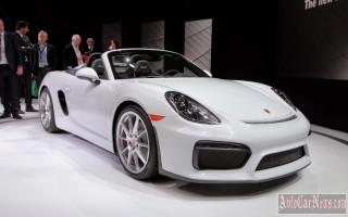 Компания Porsche презентовала новую модель родстера 718 Boxster