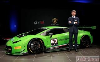 Суперкар 2015 Huracan GT3 от Lamborghini