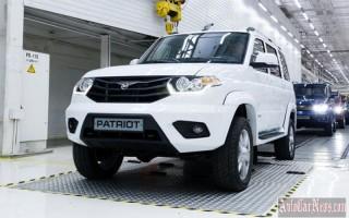 Цена моделей УАЗ с 1 января 2016 года увеличится на 25%